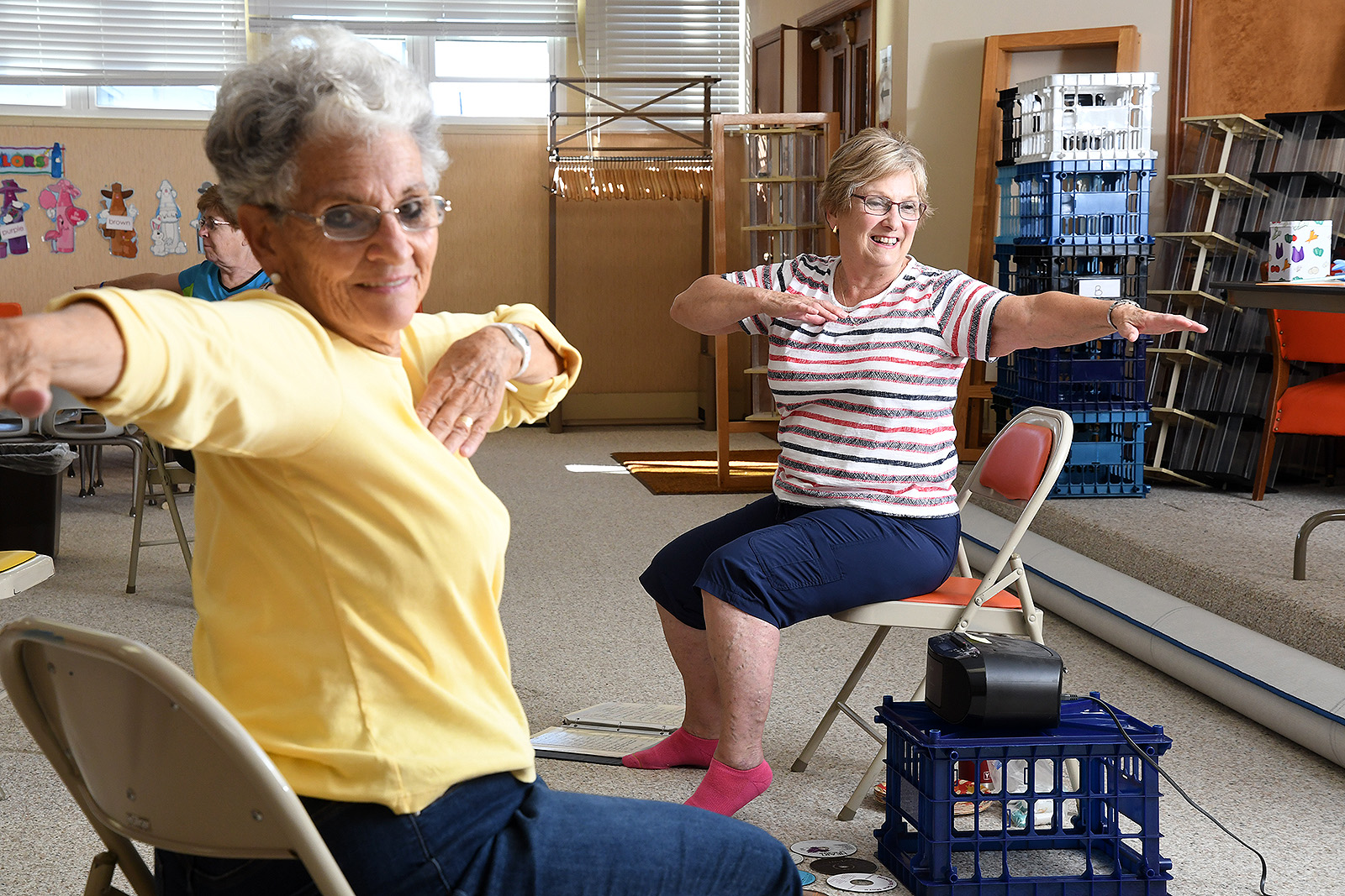 """KEEP MOVING"" Adult Exercise Class"