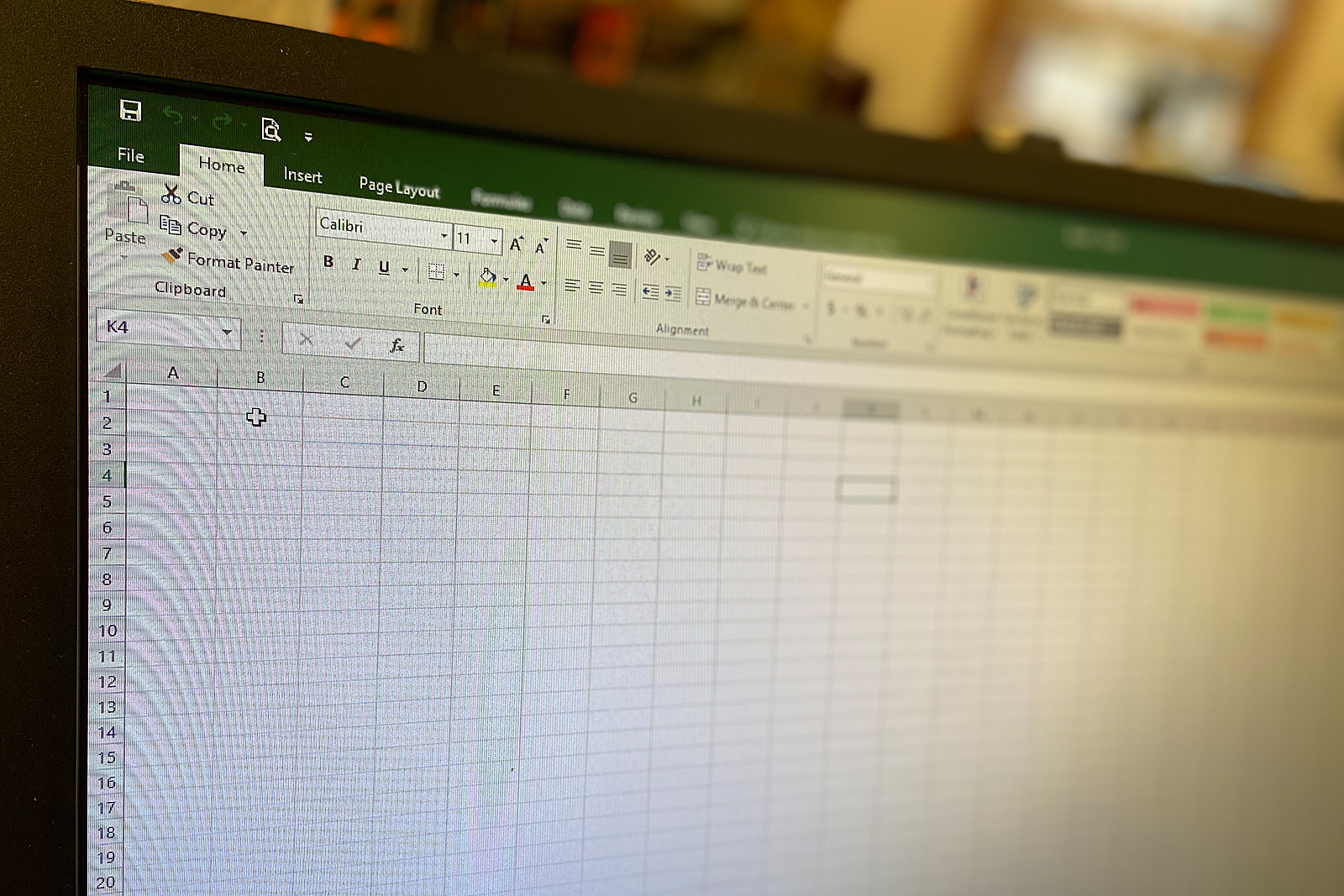 Microsoft Office© Excel© Class